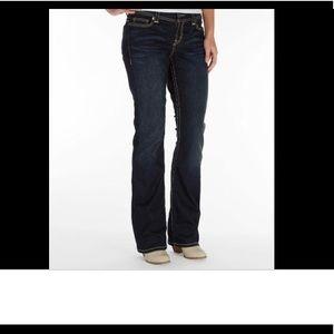 BKE . 'Dakota' Bootcut Jeans . 28L